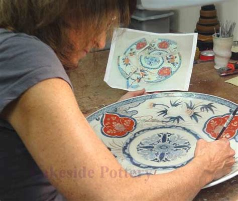 how to paint a porcelain broken ceramic plate repair demo how and where to repair