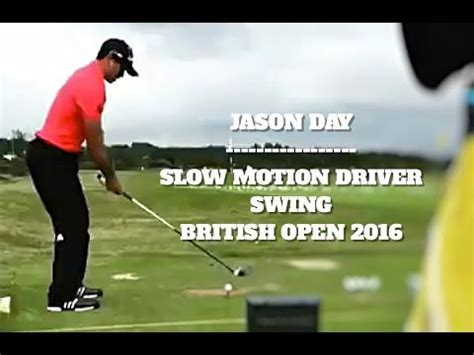 jason day driver swing jason day driver swing slow motion at the british open