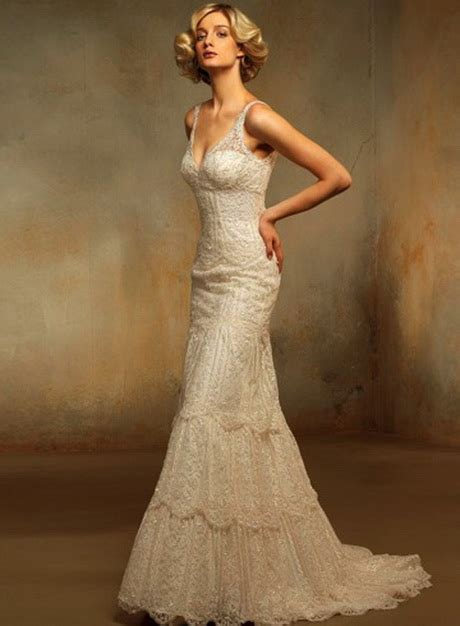 Style Lace vintage style lace wedding dresses