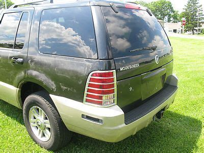 best auto repair manual 1997 mercury mountaineer seat position control service manual 1997 mercury mountaineer 3rd seat manual purchase used 2007 mercury