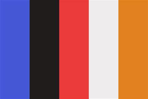 athletic color sports color palette
