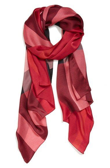 12 Most Stylish Burberry Scarves by Burberry Check Print Silk Scarf Nordstrom My Style
