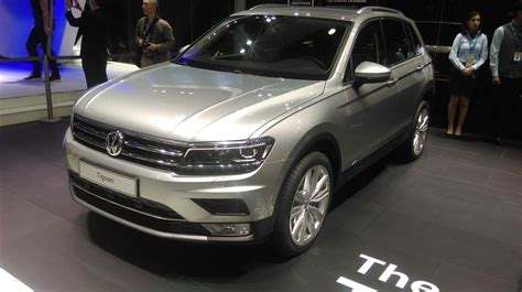 Vw Auto 2016 by Volkswagen Unveils The Tiguan At The 2016 Delhi Auto Expo