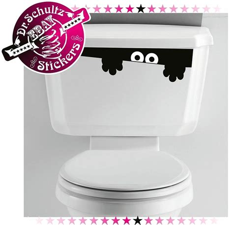 funny bathroom stickers toilet monster bathroom decal funny vinyl sticker wall art