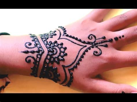 youtube membuat henna ᴴᴰ henna mehndi tangan youtube