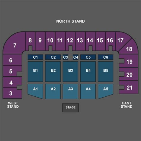 seating plan plymouth pavilions rod stewart standard seats at plymouth argyle football
