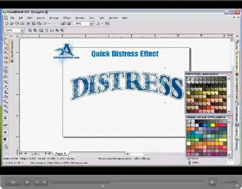 distress pattern in coreldraw corel draw tutorials corel draw tutorials for beginners
