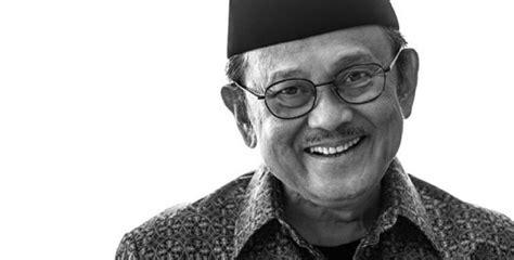 biografi bj habibie wikipedia indonesia kesehatan bj habibie membaik