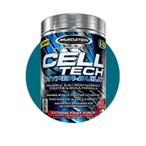 creatine 5g scoop cell tech hyper build muscletech