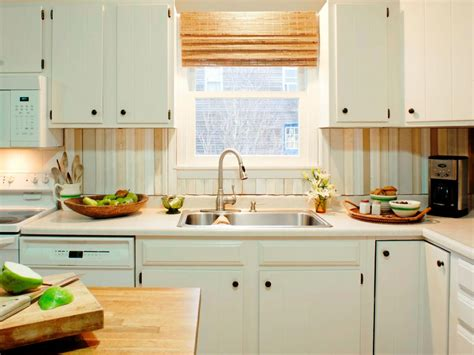 backsplashes for small kitchens salvaged wood diy kitchen backsplash for small and narrow