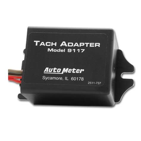 autometer tach light bulb auto meter 9117 tachometer signal adapter distributorless