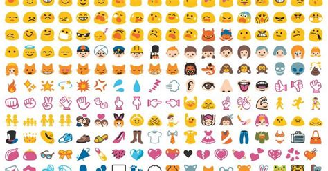 list of android emojis how to use emoji in drive because somewhat surprisingly it s actually possible