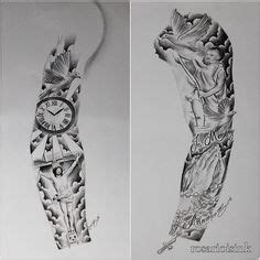 half sleeve tattoo stencils for men google search