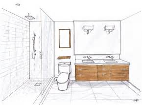 How To Design A Bathroom Floor Plan room design and renderring by carol reed interior design