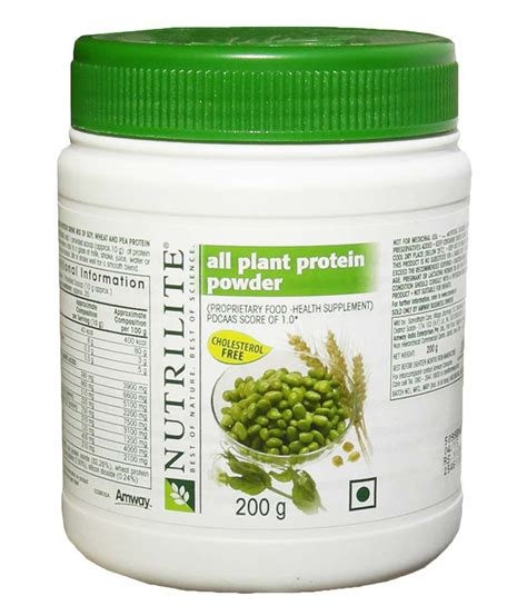 Nutrilite All Plant Protein Powder Nutrilite Amway All Plant Protein Powder 200gm Buy