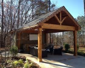 outdoor covered patio structures 1000 images about outdoor patio shelter large beam on