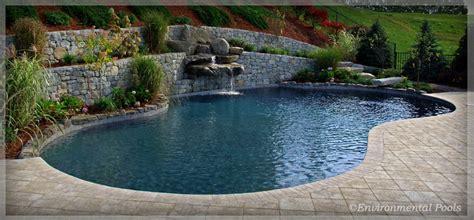 Environmental Pools Custom Gunite Inground Swimming Gunite Swimming Pool Designs