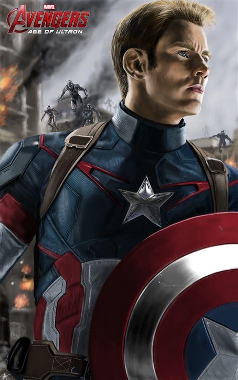 wallpaper captain america age of ultron avengers age of ultron captain america by billycsk on