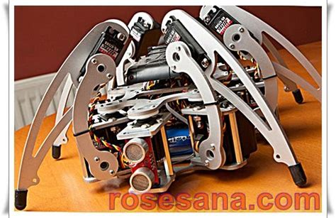 Mur Baut Spider Robot Mg90s robot indonesia msr h01 robot laba laba kaki enam