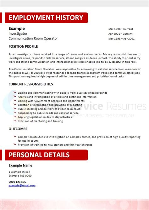 Resume Help Darwin Neuroscience Government Resume 187 And Sector Resume