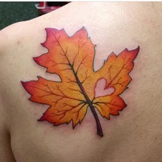 fall leaves tattoo fall leaf search ideas