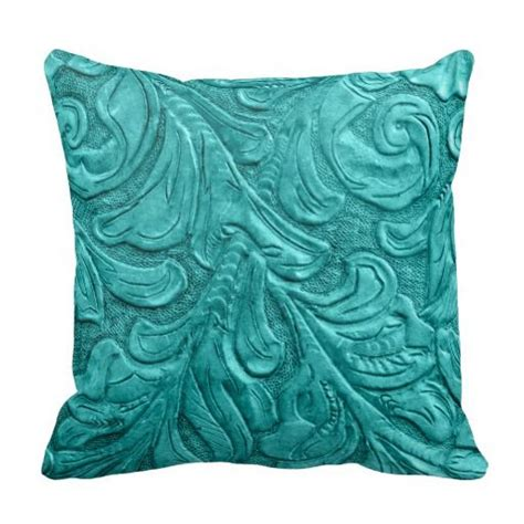 Throw Pillows For Leather by 454 Leather Pattern Western Wedding Throw Pillow Leather