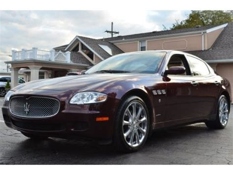 2006 Maserati Quattroporte Specs 2006 maserati quattroporte executive gt data info and