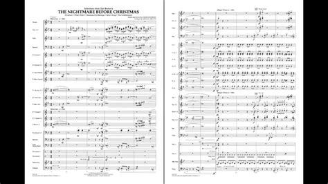 danny elfman worksheet nightmare before christmas sheet music clarinet free