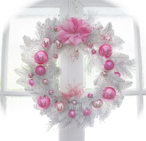 think pink on pinterest pink christmas tree pink