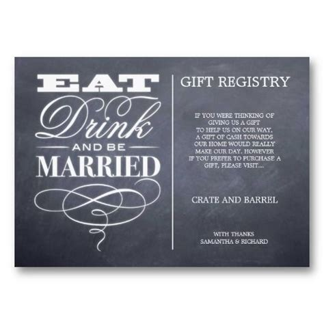 Gift Card Registry For Wedding - 25 best ideas about wedding gift poem on pinterest