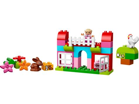 lego 174 duplo 174 all in one pink box of 10571 duplo 174 brick browse shop lego 174
