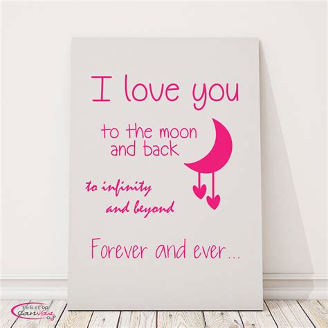 I You To The Moon And Back Baby Shower by Nieuwe Teksten Op Canvas Tekstopcanvas