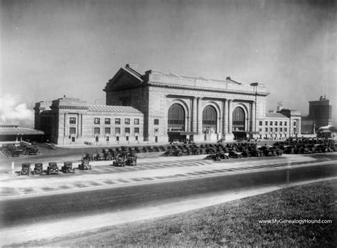 kansas city missouri union station railroad depot