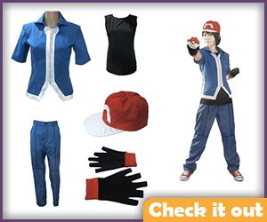 Set Ash Trainer Kid trainer costume a diy guide savvy