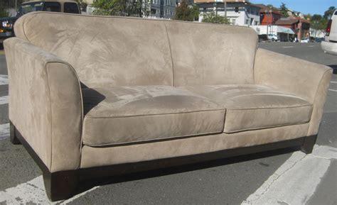 microsuede sofas uhuru furniture collectibles sold microsuede sofa and