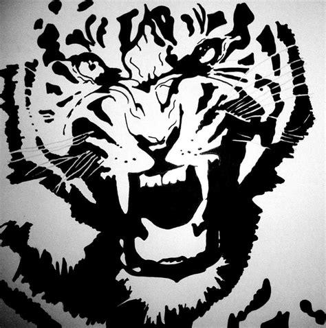 tiger template printable tigre tiger by caritnarib on deviantart