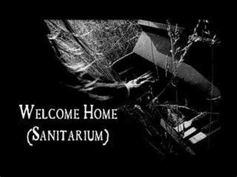 welcome home sanitarium pianotarium