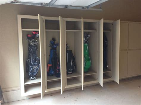 Golf Club Storage Garage by Best 25 Garage Cabinets Ideas On Garage
