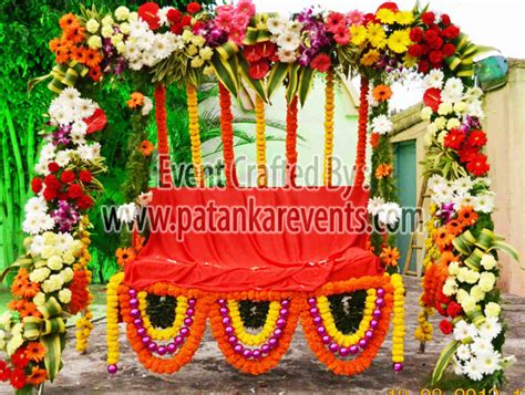 Munj Decoration Gallery Photos Of Traditional Events Patankar Events