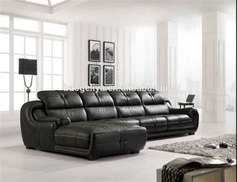 living room with leather sofa best quality sofa living room furniture leather sofa 8802