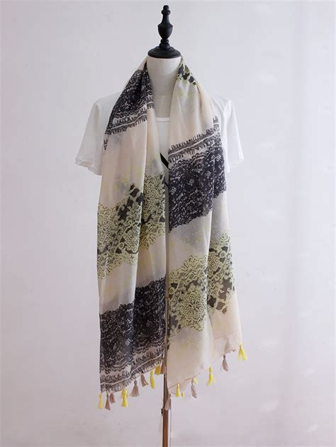 wholesale cotton lace scarves china scarf
