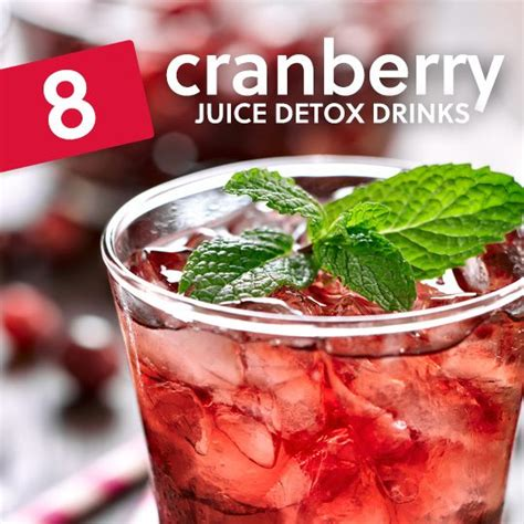 Detox Juice Drinks by 8 Cranberry Juice Detox Drinks To Cleanse Your System