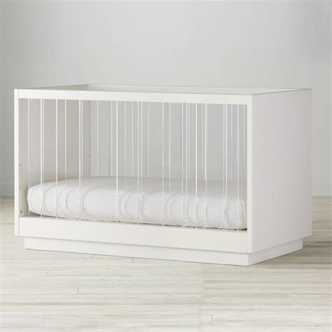 Acrylic Baby Crib by Baby Cribs Convertible Storage Mini The Land Of Nod