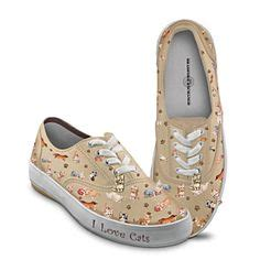 sneakers with cats on them 1000 images about cat accessories for humans at the great