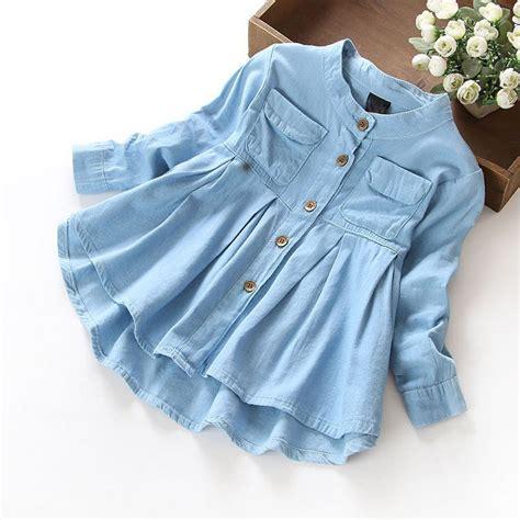 Vest Denim Biru Soft Vest Hoodie Denim new 2016 blouses shirts denim baby clothes casual soft fabric children