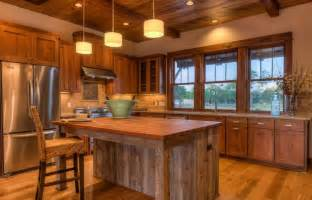 Cabin Kitchen Cabinets by Log Cabin Kitchens With Modern And Rustic Style