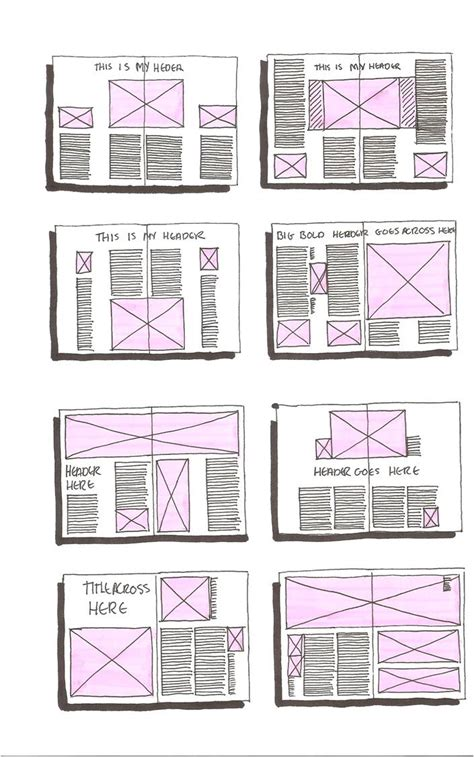 magazine layout template magazine daniellesdooodles