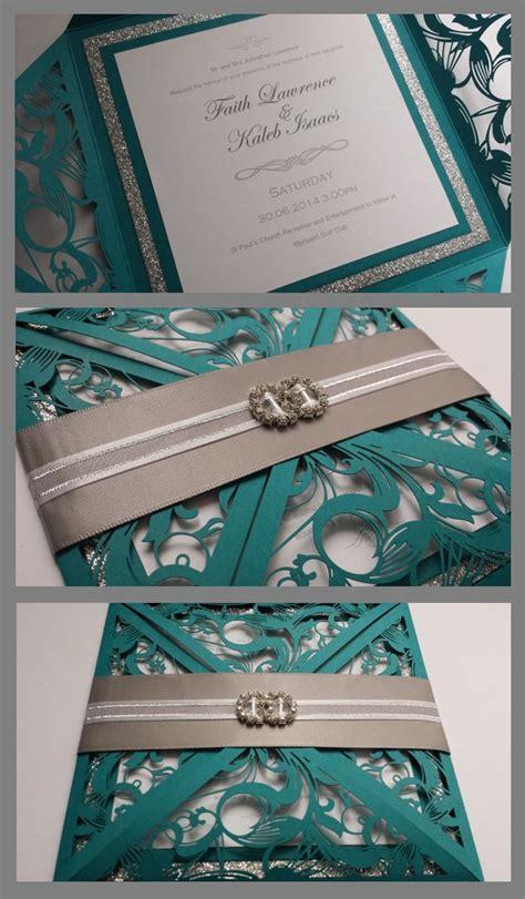 best 25 teal wedding invitations ideas on