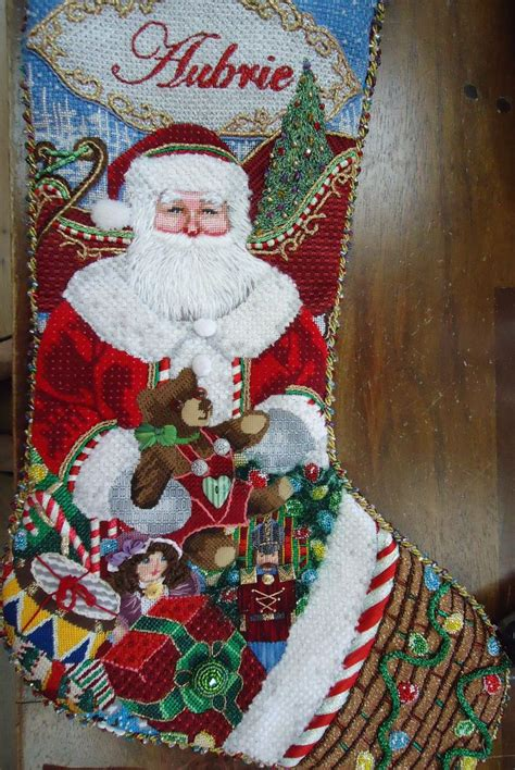 needlepoint patterns for christmas stockings 123 best needlepoint christmas stockings images on
