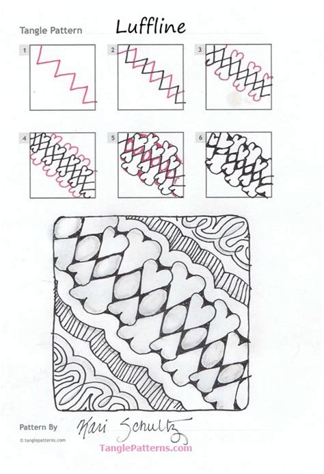 zentangle pattern groovy online instructions for drawing kari schultz s zentangle